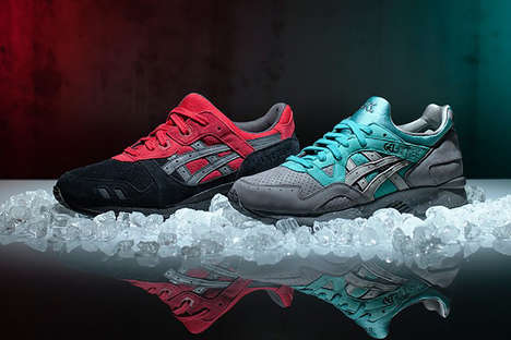 Unconventional Christmas Sneakers - The Asics Gel-Lytes are Christmas-Themed, But Not Red and Green