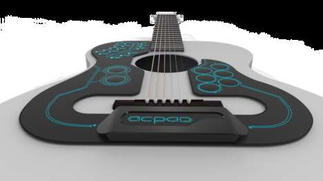 Wireless Musical Controllers - The ACPAD Lets You Enjoy Programmable Features Via Your Guitar