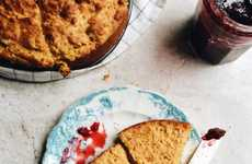 Pumpkin Yogurt Cornbreads - This Autumnal Cornbread Recipe Finds a Use For Your Leftover Squash