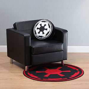 Sci-Fi Soldier Rugs - These Star Wars Carpets Offer Either a Pro-Jedi or Imperial Design
