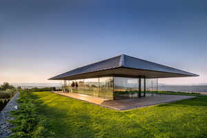 This Bulgarian Home Provides a Panoramic View of the Surrounding Area