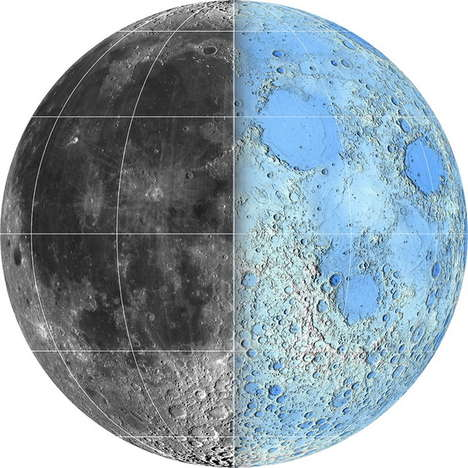 Virtual Lunar Explorations - This Moon Map Allows Anyone to Walk in the Shoes of an Astronaut