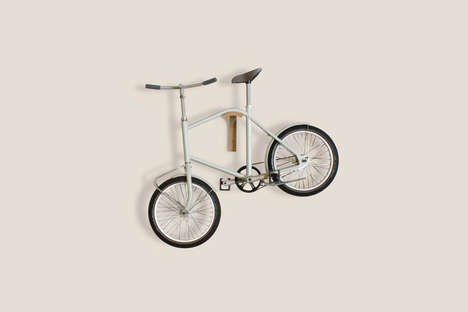 Apartment-Appropriate Bicycles - This Flexible Bike is Made to Easily Be Carried Up Stairs