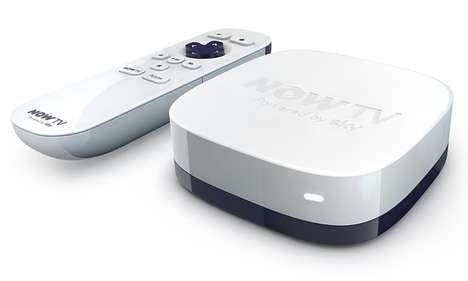 Inexpensive Media Streaming Boxes - The 'NOW TV' Box Offers an Inexpensive Streaming Solution