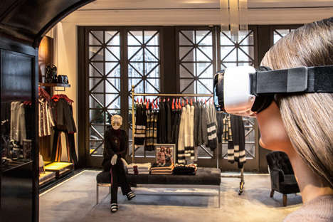 VR Runway Experiences - Tommy Hilfiger's Virtual Reality Retail Store Provides a Runway Experience
