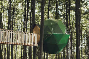 This German Robin's Nest Hotel is Suspended in the Trees and Wi-Fi-Free