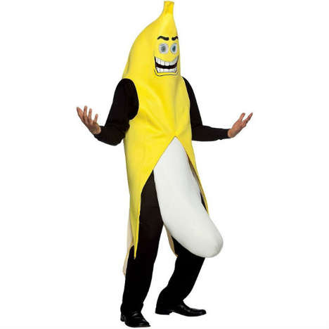 Inappropriate Fruit Disguises - This Banana Halloween Costume Sends a Decidedly Unmixed Message
