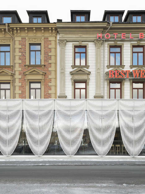 Elongated Restaurant Extensions - The Best Western Baltic Hotel Now Features a Modern Extension