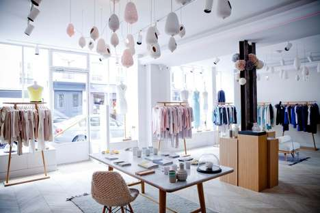 Quintessentially Parisian Shops - The New Marie Sixtine Boutique in Paris Resembles an Apartment