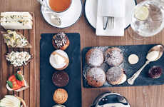 Cultural High Tea Menus - Abu Dhabi's Cafe No. 57 Offers Authentic Tea and Coffee Creations