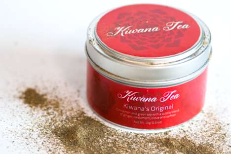 Luxurious Saffron Teas - These Aromatic Teas are Characterized by Warm and Rich Flavors