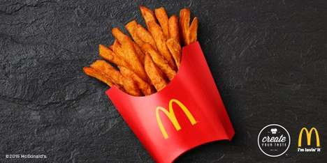 Fast Food Fry Alternatives - McDonald's is Testing Sweet Potato Fries in Some Texas Restaurants