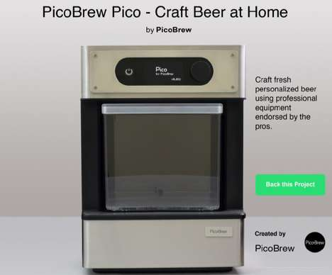 Pod-Based Home Brew Machines - The Pico Aims to Do for Homemade Beer What the Keurig Did for Coffee