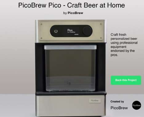 Pod-Based Home Brew Machines