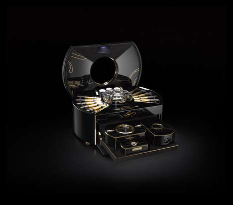 Luxe Cigar Chests - This High-Tech 'Emperador' Cigar Container is Built Like a Swiss Watch