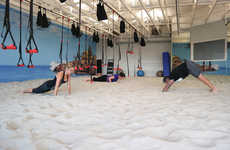 This Gym Covered One Room with a Sand Floor to Intensify Workouts