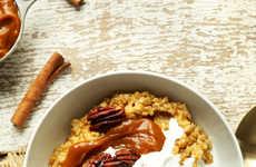Vegan Pumpkin Porridges - These Pumpkin Oats are a Seasonal Breakfast Treat