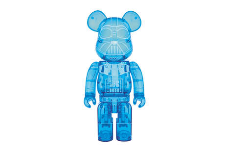 Villainous Sci-Fi Bear Toys - This Star Wars Medicom Toy is Modeled after Darth Vader