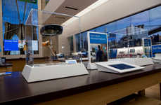 Interactive Electronic Stores - The Microsoft Flagship Store Invites You to Try Out Its New Gadgets
