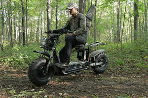 The Daymak Beast Off-Road Scooter is Made for Getting Around in Style