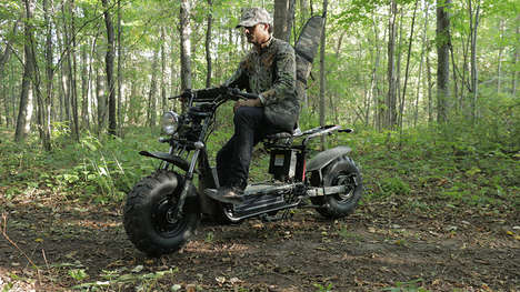 Rugged Eco-Friendly Scooters - The Daymak Beast Off-Road Scooter is Made for Getting Around in Style