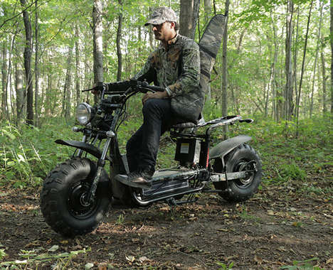 Rugged Eco-Friendly Scooters