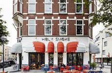 Symmetrical Bar Interiors - This Rotterdam Restaurant Was Designed by Studio Modijefsky