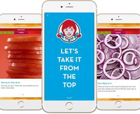 Mobile Fast Food Ads