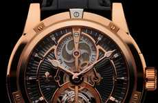 Opulent Tourbillon Wristwatches