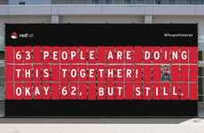 People-Powered Billboard Ads