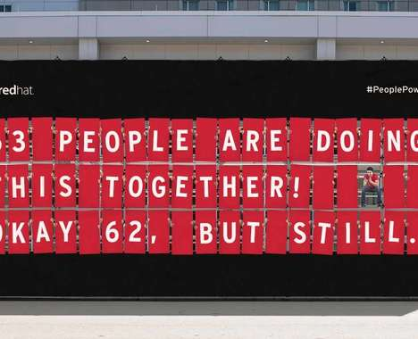 People-Powered Billboard Ads