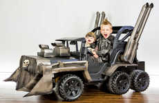 DIY Apocalyptic Vehicles - This Children's Vehicle Has Been Transformed into a 'Mad Max' War Rig