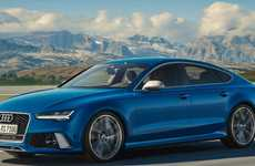 Tweaked German Cars - The Audi RS Performance Series Features Quattro All-Wheel Drive