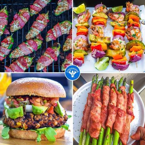Fitness-Focused Food Platforms - The Fit Men Cook Instagram Promotes Healthy Barbecue Ideas
