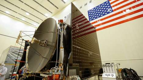 Asteroid-Sampling Spacecraft - The OSIRIS-REx Spacecraft Will Bring Asteroid Samples to Earth