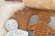 Skeleton Cookie Cutters - This Fun Baking Accessory Puts a Halloween Twist on a Christmas Treat