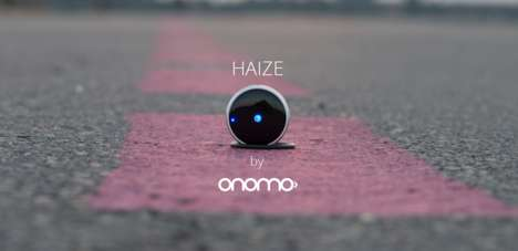 Bike Navigation Compasses - 'Haize' Points Cyclists in the Right Direction with an LED Light Device