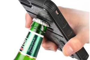 This Multi-Functional Phone Case is Also a Beer Opener and Lighter