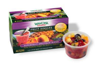 Frozen Fruit Cups - Wawona Frozen Foods' Single-Serve Cups are Loaded with Superfruits
