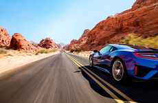 Powerfully Engineered Cars - The 2017 Honda Acura NSX Offers Impressive Performance On the Road
