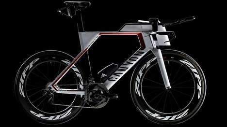 Competitive Triathlon Bicycles - The Speedmax CF SLX Bicycle is Designed For Competitive Triathlons