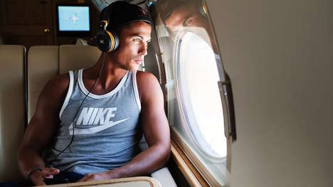 Soccer Superstar Headphones - Cristiano Ronaldo's Monster Roc Headphones Include Three Offerings