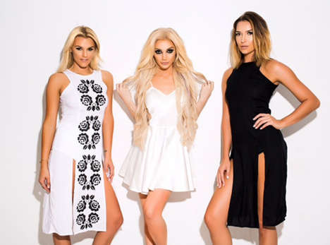 Socialite-Inspired Clothing Collections - This Line Features Pieces Named After the Kardashians