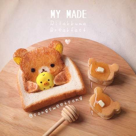 Adorable Food Art Snacks - Song Rattanakosate Finds Ingenious Ways to Create Tiny Food Characters