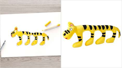 Kid-Designed Stuffed Toys - IKEA Will Raise Money for Charity by Selling Plush Toys Designed by Kids