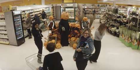 Halloween Grocery Pranks - Tesco Turned a Regular Grocery Store into a 'Spookermarket'