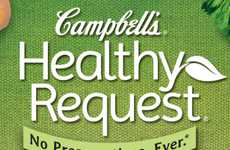 Healthy Canned Soup Campaigns - 'Healthy Request' is a Customer-Focused Campaign from Campbell's