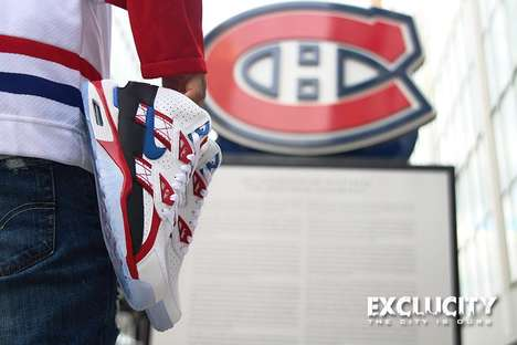 Canadian Hockey Sneakers - The Nike Montreal Canadiens Shoes are Making Waves with Hockey Lovers