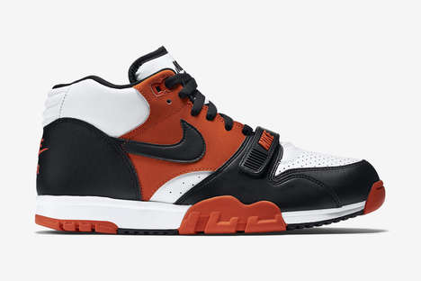 Halloween Colored Sneakers - These Halloween Nike Air Trainers are Both Festive and Sporty
