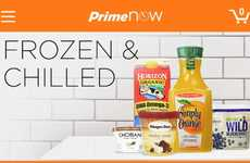 Amazon Prime Now offers one-hour services for chilled goods